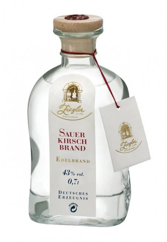 Ziegler Sauerkirschbrand 0,7 Liter