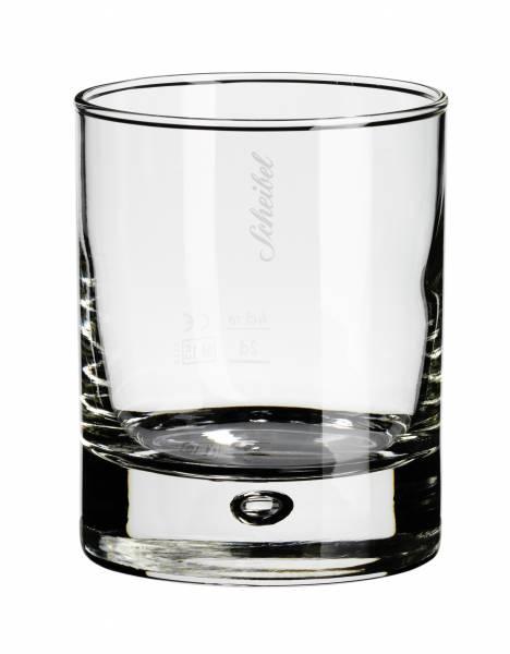 Scheibel Tumbler Glas geeicht