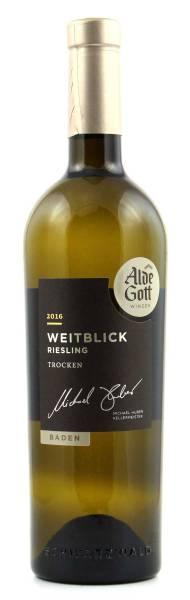 Alde Gott Weitblick Riesling trocken 0,75l