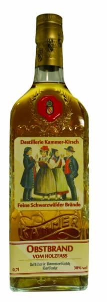 Kammer-Kirsch Obstbrand im Holzfass gereift 0,7 Liter
