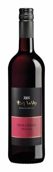 Rolf Willy Trollinger trocken QbA 0,75 Liter