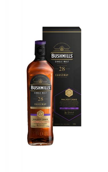 Bushmills 28 Jahe – Malaga Cask - #460142 0,7 Liter