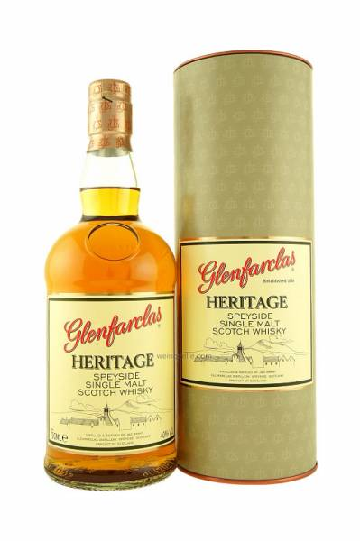 Glenfarclas Heritage 0,7 Liter