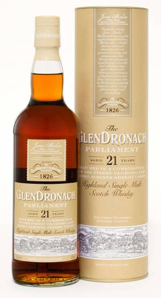 GlenDronach 21 Jahre Parliament 0,7 Liter