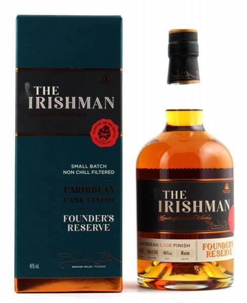 The Irishman Caribbean Cask Founder's Reserve 0,7l