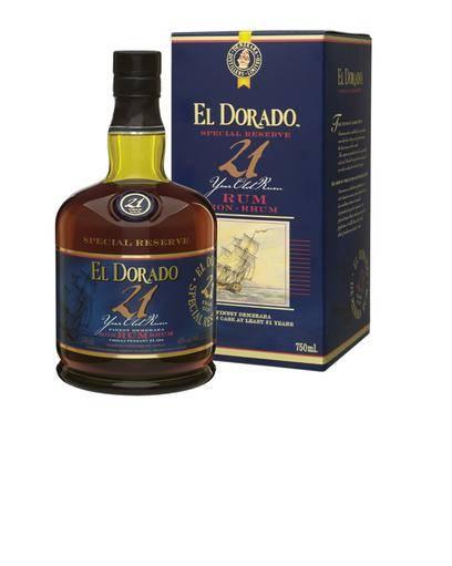 El Dorado Rum 21 Jahre 0,7 Liter