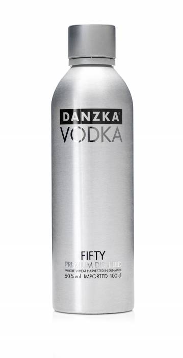 Danzka Vodka Black 1 Liter