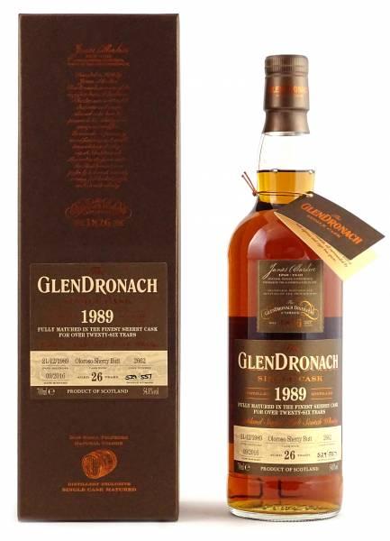 GlenDronach 1989 #2662 26 Jahre Batch 14 0,7 Liter