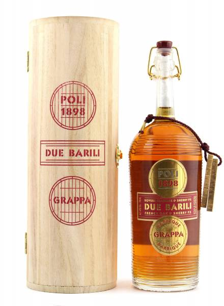 Poli Due Barili Barrique Grappa 0,7l