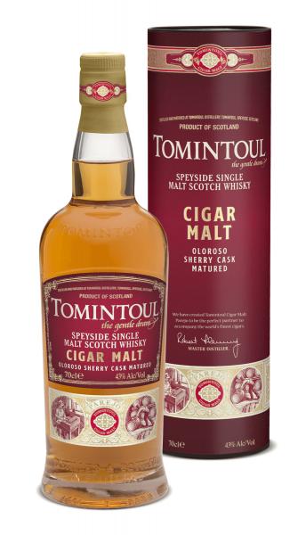 Tomintoul Cigar Malt 0,7 Liter