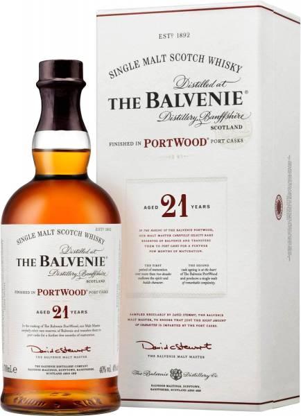 The Balvenie 21 Jahre Portwood Finish 0,7 Liter