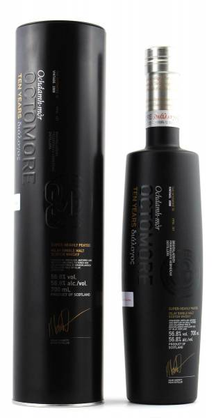 Octomore 10 Jahre 3rd Dialogos 2008 56,8% The Outlier 0,7l