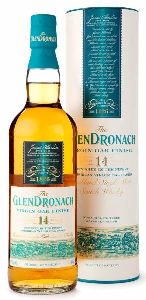 GlenDronach 14 Jahre old Virgin Oak Finish 0,7 Liter