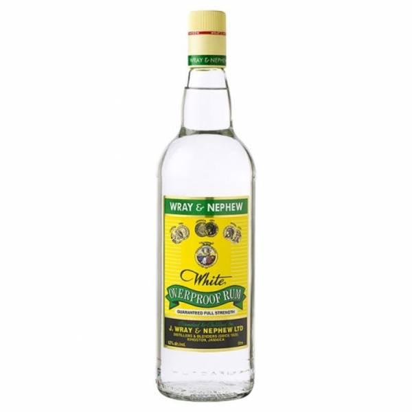 Wray and Nephew Overproof White Rum 0,7 Liter