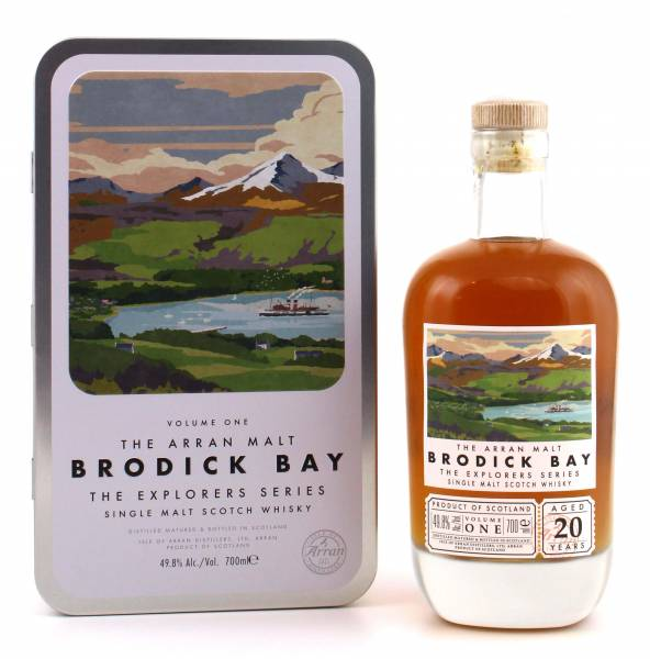 Arran Brodick Bay Whisky The Explorers Series #1 0,7l