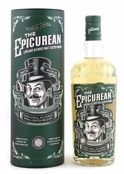 The Epicurean Blended Whisky Douglas Laing's 0,7 Liter