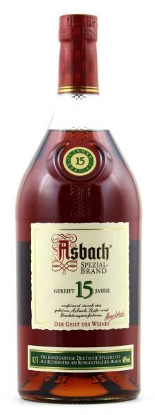 Asbach Spezialbrand 15 Jahre 0,7 Liter