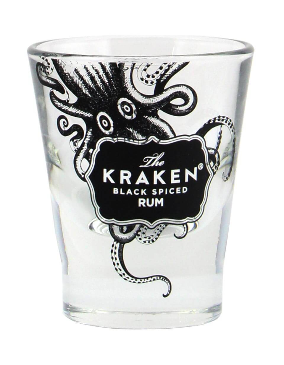 Kraken Black Spiced Shot Glas