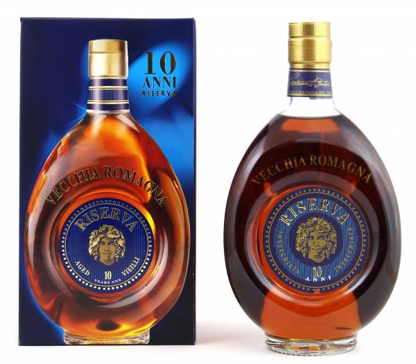 Vecchia Romagna Riserva Brandy 10 Jahre 0,7l