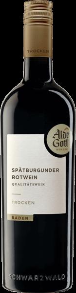 Alde Gott Spätburgunder trocken Rotwein QbA 0,75l