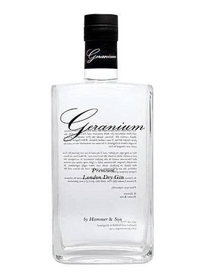 Geranium Premium London Dry Gin 0,7 Liter