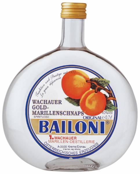 Bailoni Gold Marillenschnaps 0,7 Liter