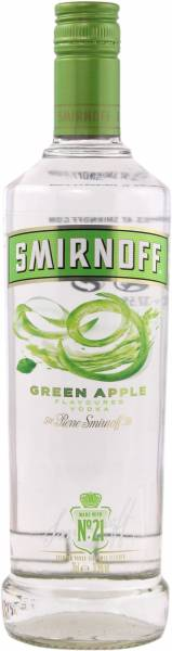 Smirnoff Vodka Green Apple 0,7 Liter