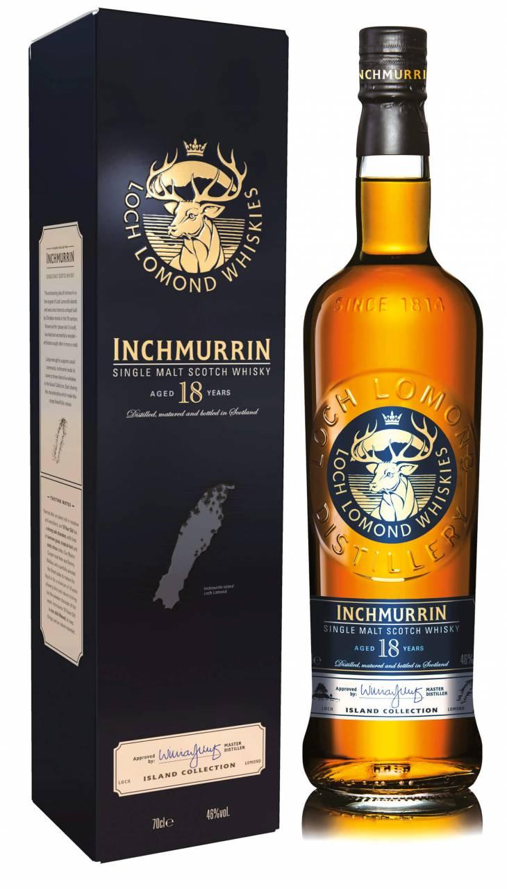 Inchmurrin 18 Jahre Loch Lomond 0,7l