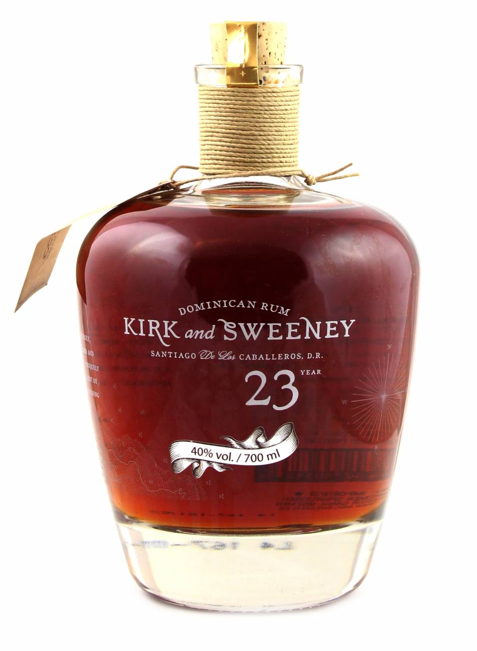 Kirk and Sweeney 23 Jahre Dominican Rum 0,7 Liter