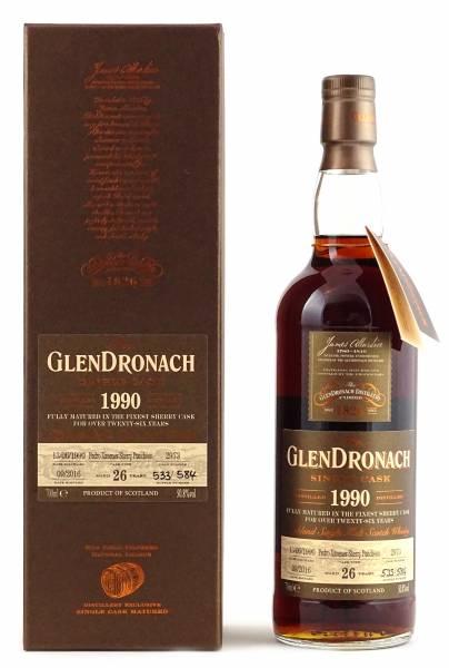 GlenDronach 1990 #2973 26 Jahre Batch 14 0,7 Liter