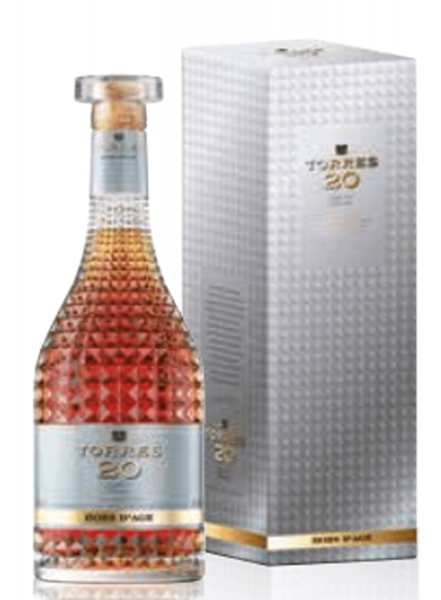 Torres 20 Jahre Hors d'Age Brandy 0,7 Liter