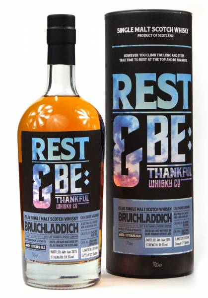 Bruichladdich 12 Jahre 2003 Sherry & Bourbon Rest & Be 0,7 Liter