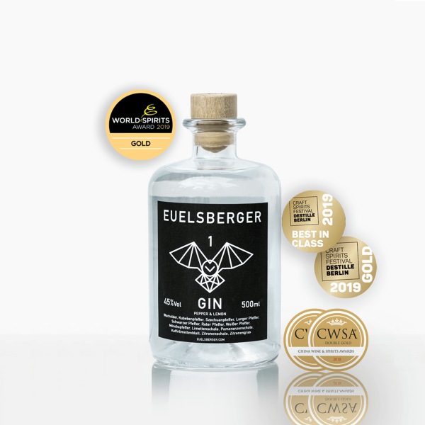 Euelsberger Gin #1 Pepper & Lemon 0,5 Liter