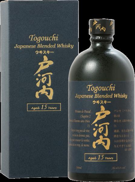 Togouchi 15 Jahre Blended Whisky 0,7 Liter