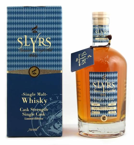 Slyrs Fassstärke 2014/2017 Single Malt Whisky 0,7l