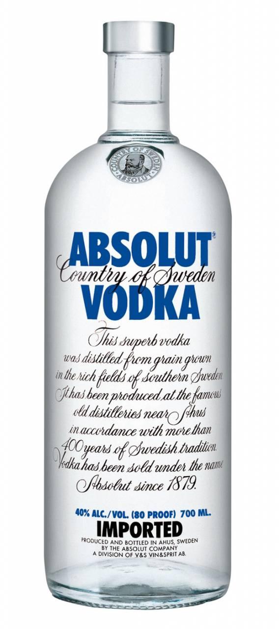Absolut Vodka Blue 0,5 Liter