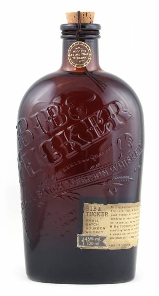 Bib & Tucker Whiskey small Batch Bourbon 0,7 Liter