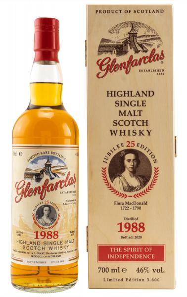 Glenfarclas Edition No. 25 1988/2020 Flora MacDonald 0,7l
