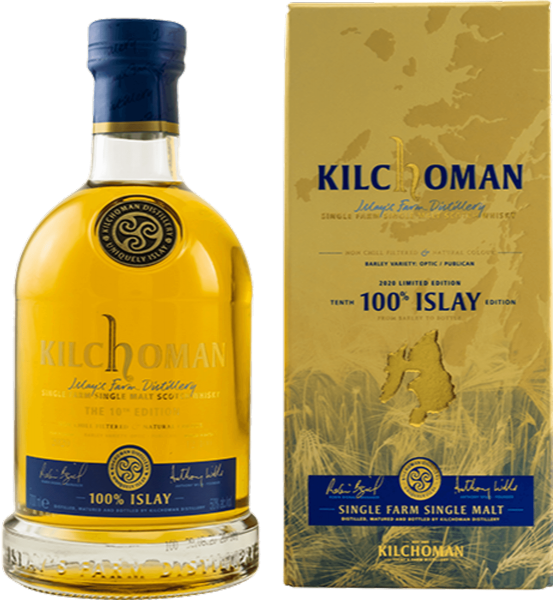 Kilchoman 100% Islay Release 10th Edition 2020 50% 0,7 Liter