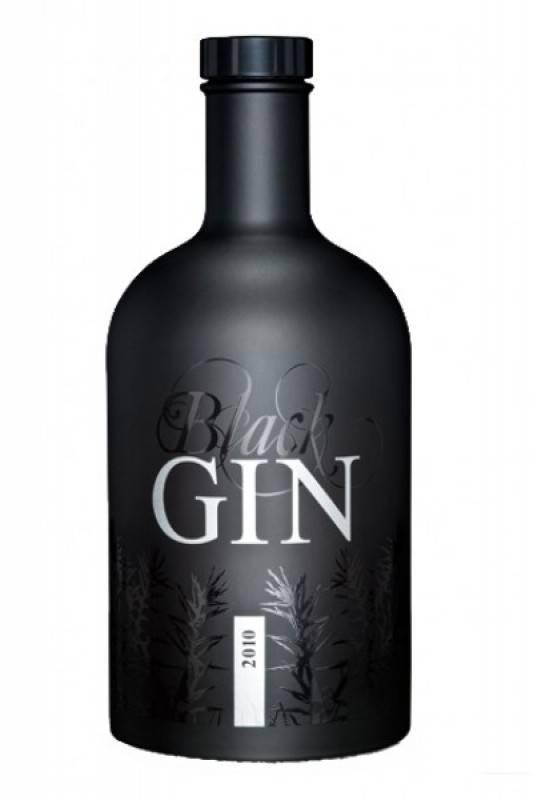 Gansloser Black Gin 0,7 Liter