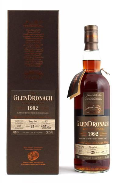 GlenDronach 1992 #103 25 Jahre Batch 16 0,7l