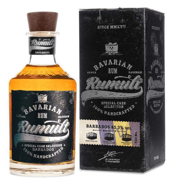 Rumult Bavarian Rum - Special Cask Selection Barbados 45,3% 0,7l