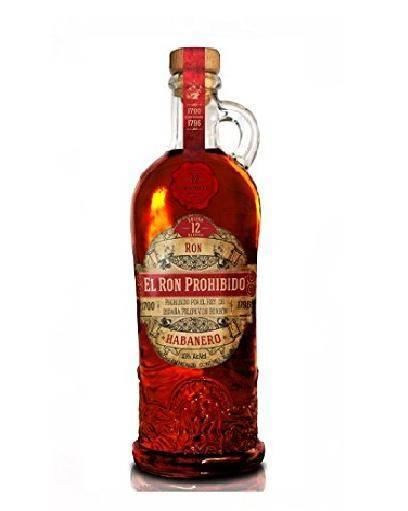 El Ron Prohibido Solera Blender 12 Jahre 0,7 Liter