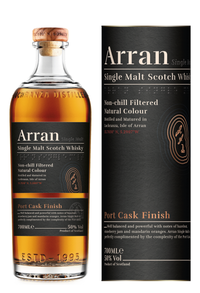 The Arran Port Cask Finish - neues Design 0,7 Liter