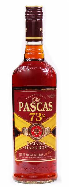Old Pascas Very Old 73% Jamaica Rum 0,7 Liter