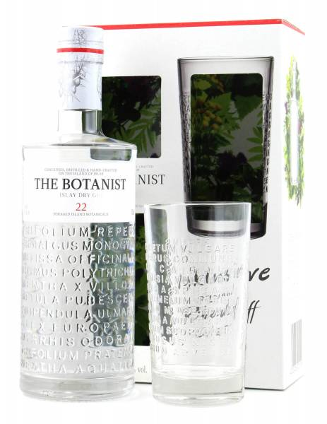 The Botanist Islay Dry Gin 22 + Glas in GP 0,7l