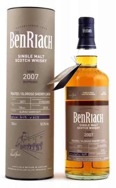 BenRiach 10 Jahre Cask #3071 Batch 15 0,7l