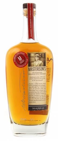 Masterson's 10 Jahre American Oak Finish 0,7l