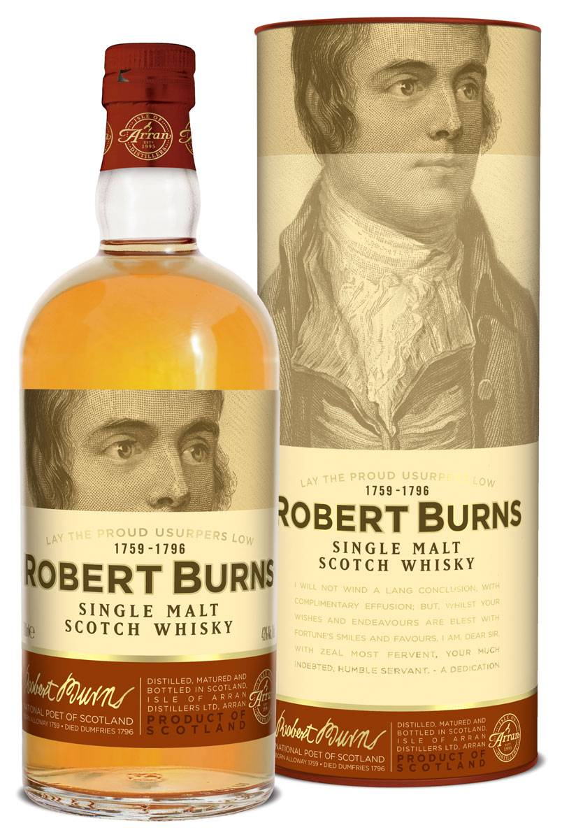 Arran Robert Burns Single Malt 0,7 Liter