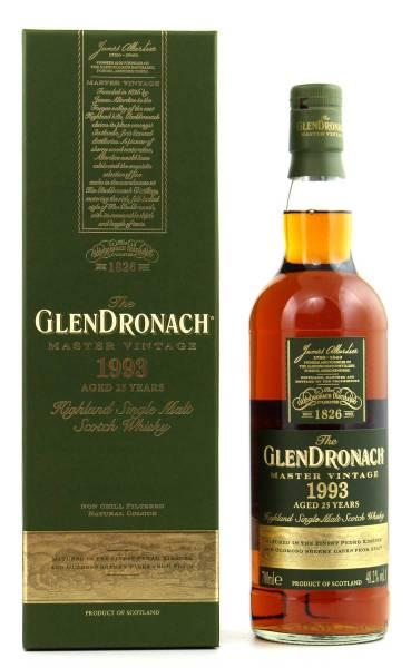 GlenDronach Master Vintage 1993 25 Jahre 0,7l